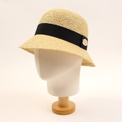 Cool Beige Cloche Hat 여름페도라