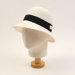 Cool White Cloche Hat GD 여름페도라
