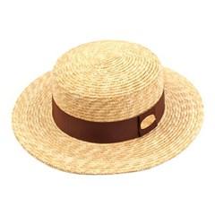 Kangkang Brown Line Panama Hat 파나마햇