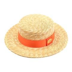 Kangkang Orange Line Panama Hat 파나마햇