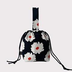 Floral string bag