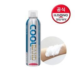 [일동제약]쿨밴드 냉찜질 스프레이(화상,햇볕에 탄피부,_(2409829)
