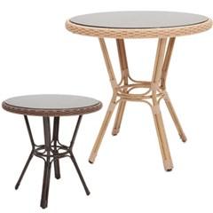 몽블 라탄 테이블