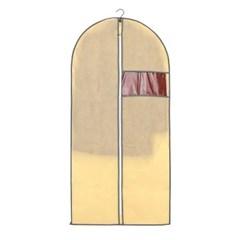 부직포 투명창 옷커버(60x130cm)/ 옷보관 코트커버