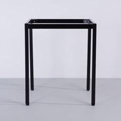 30각 프레임 블랙 티테이블용 카페 식탁 업소_(1826359)