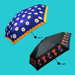[위글위글] 미니 3단 양우산