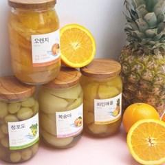 아리감성 수제 과일 병조림