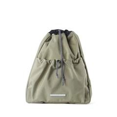 STRING SLIM BACKPACK 503 W.NYLON OLIVE_(789615)