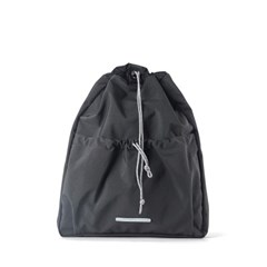 STRING SLIM BACKPACK 503 W.NYLON CHARCOAL_(789613)