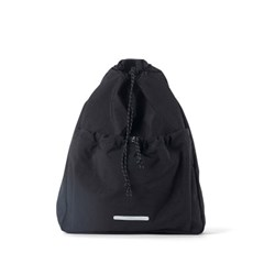 STRING SLIM BACKPACK 503 W.NYLON BLACK_(789612)