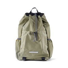 STRING BACKPACK 750 W.NYLON OLIVE_(789602)