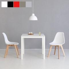 마켓비 PAPAGENO 테이블 750 + WOODFEL 의자 2개 2인세트