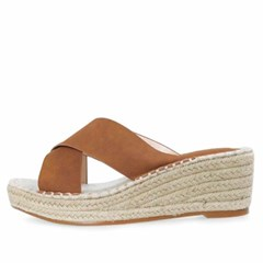 kami et muse Cross strap espadrille wedge slippers_KM20s209