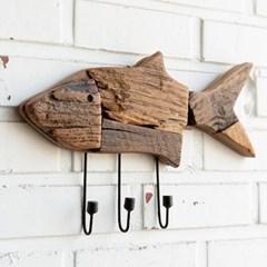 고재 물고기 걸이