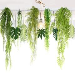 조화 넝쿨 트로피칼 나뭇잎  그린테리어 10종세트
