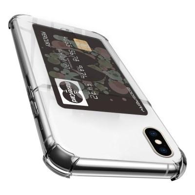 머큐리 하이브리드 에어백 카드 포켓 아이폰 X/XS/XS MAX