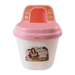 키플 탑앤트리 고양이 화장실 (핑크)