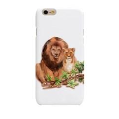 Couple lion (HA-068A) Hard Case