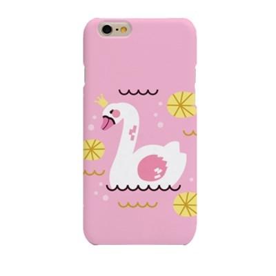 Pink BG Swan (HA-065B) Hard Case