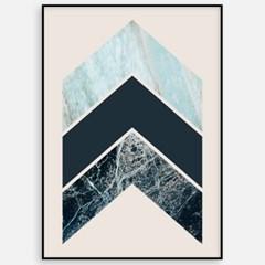 모던 북유럽 거실 캔버스 인테리어 액자 포스터 기하학