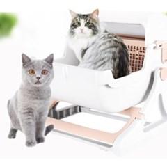 고양이 반자동 화장실_(1204770)