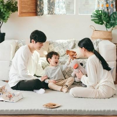[수면공감] 송이토퍼 매트리스 거실매트 바닥용 침대용 토퍼 4종