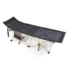 이중메쉬 접이식 야전침대 / 베개형 캠핑 간이침대