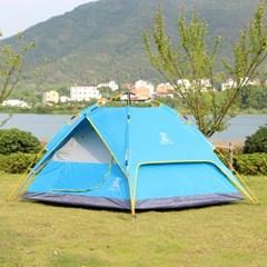 캠프 원터치 오토텐트 / 그늘막 4인용 캠핑텐트