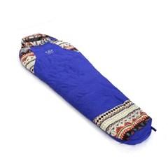 아스트로 캠핑 침낭(퍼플)/겨울 오리털침낭 캠핑용품
