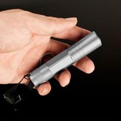 열쇠고리 스트랩 LED 후레쉬(실버) /휴대용손전등