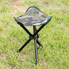 야외용 삼각발 접이식의자(대)/낚시 레저 캠핑의자