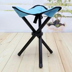 야외용 삼각발 접이식의자/낚시 등산 캠핑의자