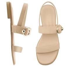 SPUR[스퍼] 샌들 PS9054 circle belt sandal 베이지