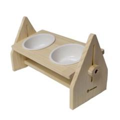 피카부 강아지 고양이 밥그릇 높이조절 수반