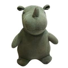 앳하스홈 소피 꼬뿔소 도어 스토퍼 28cm 카키