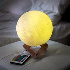 레토 16컬러 3D 입체 달 무드등 LED 조명 스탠드 LML-M20
