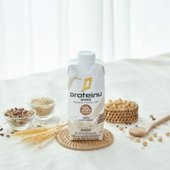 프로틴유 쉐이크_곡물 단백질음료 프로틴음료 보충제 곡물맛