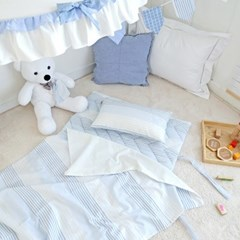 분리형 순면 낮잠이불세트/가방 - 마린보이