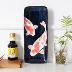 아이카 잉어 직사각접시 생선접시_(1954282)