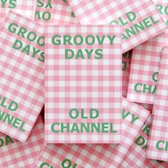 GROOVY DAYS DIARY - Gingham Pink