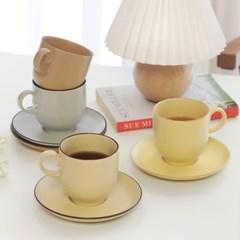 카네수즈 클라리스 커피잔+받침세트 4color