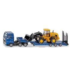 [시쿠] MAN TGX 로우로더 트럭과 JCB 휠 로더_(301811314)
