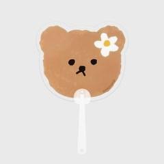 Dot flower bear(부채)_(1606847)
