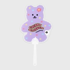 Cherry blossom bear(부채)_(1606846)