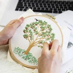 101도 프랑스자수 DIY 패키지 나의 사과나무_(203427)