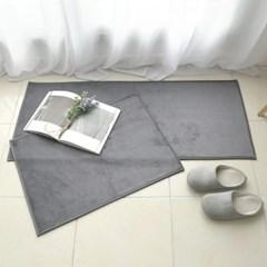 포그미 모던 극세사 주방매트 3color/2size