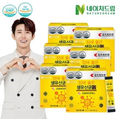 [네이처드림] 조아제약 생유산균12 30포*6박스