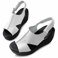 kami et muse Platform wedge heel velcro sandals_KM20s221