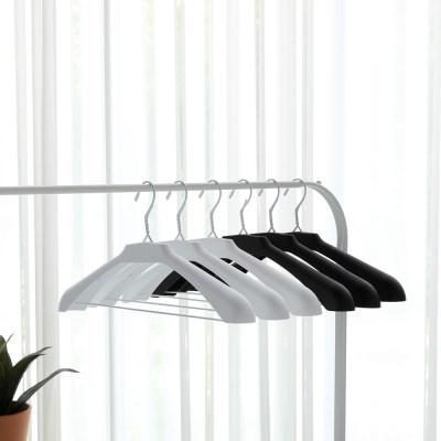 이지라인 어깨뿔 방지 고리 없는 옷걸이 20P 세탁소옷걸이 활용가능