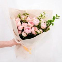 [장미 꽃다발] 사랑을 고백할 땐, 로맨틱 로즈 부케 (생화/전국배송)